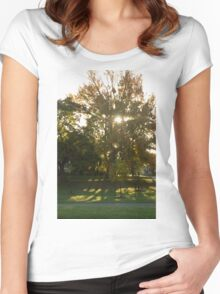 Morning Sun Women's Fitted Scoop T-Shirt