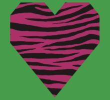 0152 Barbie Pink Tiger One Piece - Short Sleeve
