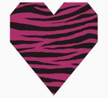 0152 Barbie Pink Tiger Kids Tee