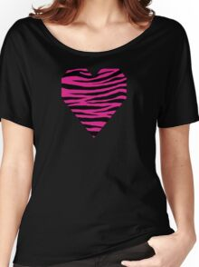 0152 Barbie Pink Tiger Women's Relaxed Fit T-Shirt