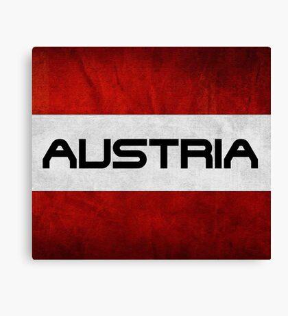 Austrian Pride T Shirt Canvas Print