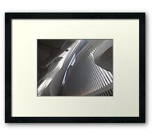 Opening Day of World Trade Center Transit Hub Oculus, Santiago Calatrava, Architect, Lower Manhattan, New York City Framed Print