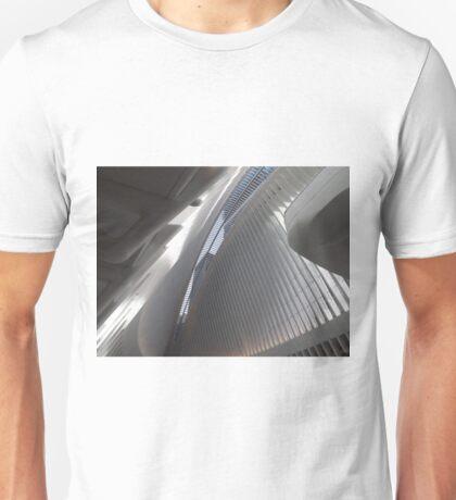 Opening Day of World Trade Center Transit Hub Oculus, Santiago Calatrava, Architect, Lower Manhattan, New York City Unisex T-Shirt