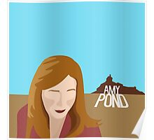 amy pond - day of the moon Poster