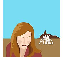 amy pond - day of the moon Photographic Print