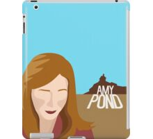 amy pond - day of the moon iPad Case/Skin