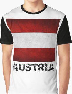 Austrian Flag Graphic T-Shirt