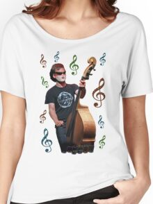 Musician playing cello Women's Relaxed Fit T-Shirt