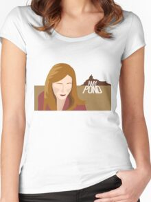 amy pond - day of the moon Women's Fitted Scoop T-Shirt