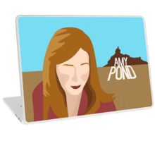 amy pond - day of the moon Laptop Skin