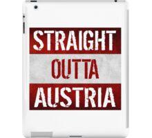 Straight Outta Austria Flag iPad Case/Skin