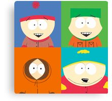 Southpark- The Gang Canvas Print
