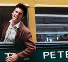 Peterman Reality Bus Tour T Shirt Sticker