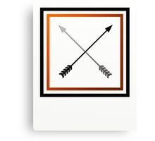 Duelling Arrows Canvas Print
