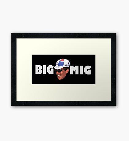 Big Mig Framed Print