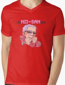 Ber Nii-San Ders Mens V-Neck T-Shirt