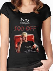 Sod off Women's Fitted Scoop T-Shirt