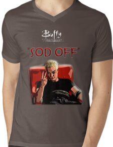 Sod off Mens V-Neck T-Shirt