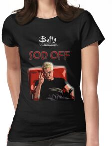 Sod off Womens Fitted T-Shirt