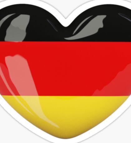 Germany heart Sticker