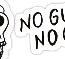 No Guts No Glory Sticker