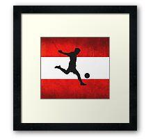 Austrian Soccer Framed Print