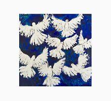 Seven white Doves of LOVE designed for Madeline Stuart Unisex T-Shirt