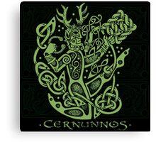 """Cernunnos, """"The Celtic Horned God"""" Canvas Print"""