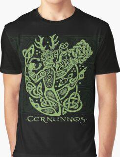 """Cernunnos, """"The Celtic Horned God"""" Graphic T-Shirt"""