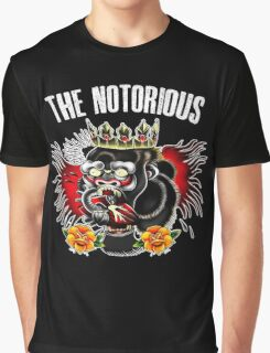 Conor Mcgregor - Notorious Fight Black Graphic T-Shirt