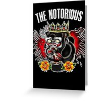 Conor Mcgregor - Notorious Fight Black Greeting Card