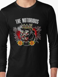 Conor Mcgregor - Notorious Fight Black Long Sleeve T-Shirt