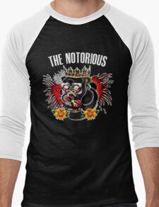 Conor Mcgregor - Notorious Fight Black Men's Baseball ¾ T-Shirt
