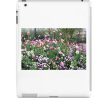 flowers from disneyland iPad Case/Skin