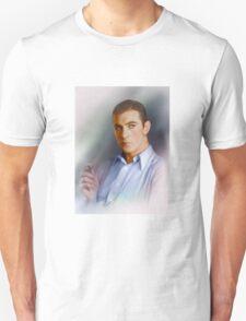 Colorized Portrait of Gary Cooper circa 1936-1940 Unisex T-Shirt