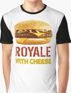 Royale With Cheese Graphic T-Shirt