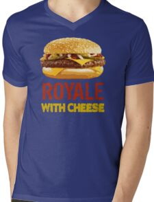 Royale With Cheese Mens V-Neck T-Shirt