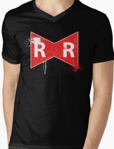 Red Ribbon Army Mens V-Neck T-Shirt