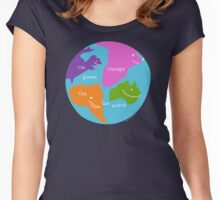 I'm Gonna Change The World Women's Fitted Scoop T-Shirt