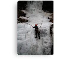 Ice Climber Canvas Print
