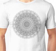 Black ad white mandala Unisex T-Shirt