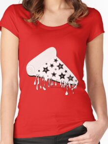 A Nice Slice  Women's Fitted Scoop T-Shirt