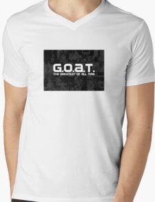 MJ Goat Mens V-Neck T-Shirt