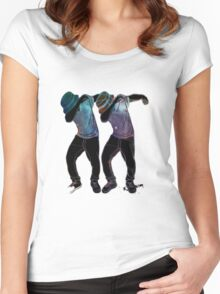 Dabb Twins Women's Fitted Scoop T-Shirt