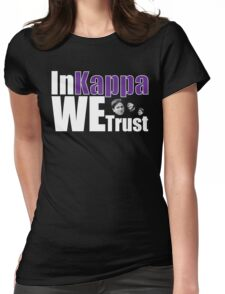 In Kappa We Trust Womens Fitted T-Shirt