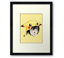 L cute Framed Print
