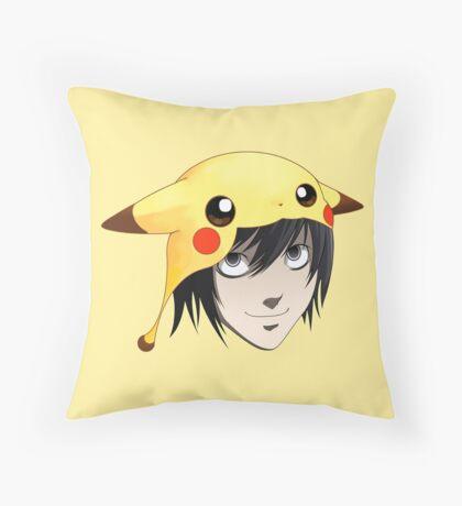 L cute Throw Pillow