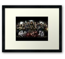 The Thing: Outpost 31 Framed Print