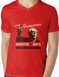 #FeelTheBern Mens V-Neck T-Shirt
