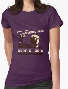 #FeelTheBern Womens Fitted T-Shirt